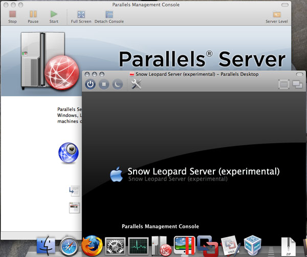 「Parallels Management Console」+「Parallels Desktop for Mac」